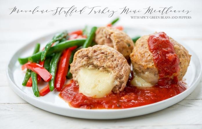 provolone meatballs