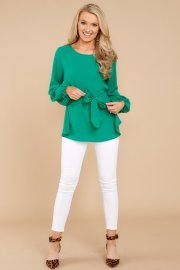 Perfect Love Shamrock Green Top AURA $28 - https://www.reddressboutique.com/collections/all-clothing/products/perfect-love-shamrock-green-top