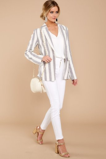 Just Business Striped Blazer $64 - https://www.reddressboutique.com/collections/all-clothing/products/just-business-striped-blazer