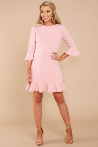 My Favorite Night Blush Pink Dress AURA $34 - https://www.reddressboutique.com/collections/all-clothing/products/my-favorite-night-blush-pink-dress