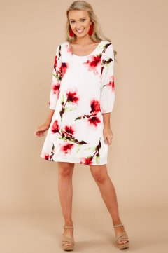 All I've Wanted White Print Dress $44 - https://www.reddressboutique.com/collections/all-clothing/products/all-ive-wanted-white-print-dress