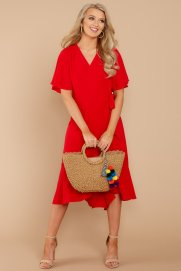 Looking Just Right Red Midi Dress $44 - https://www.reddressboutique.com/collections/all-clothing/products/looking-just-right-red-midi-dress