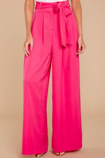 Step On Out Bright Pink Pants $38 - https://www.reddressboutique.com/collections/all-clothing/products/step-on-out-bright-pink-pants