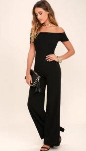 ALLEYOOP BLACK OFF-THE-SHOULDER JUMPSUIT - https://www.lulus.com/products/alleyoop-black-off-the-shoulder-jumpsuit/361492.html