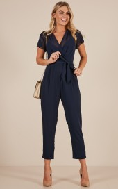 No Limits Jumpsuits In Navy $61.95 - https://www.showpo.com/us/no-limits-jumpsuits-in-navy
